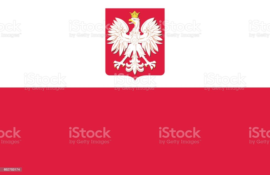 Poland vector art illustration