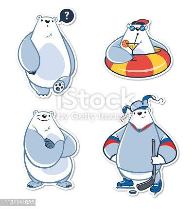 Polar bear emotions