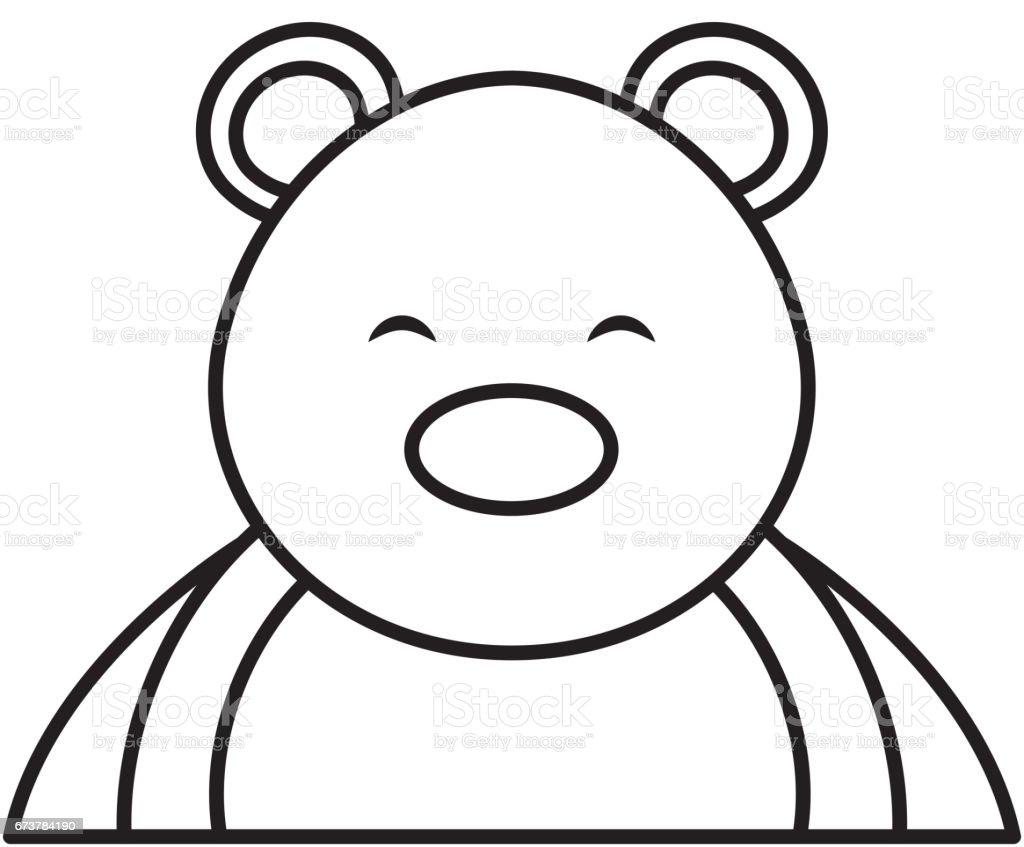 Kutup ayısı sevimli karakter royalty-free kutup ayısı sevimli karakter stok vektör sanatı & animasyon karakter'nin daha fazla görseli