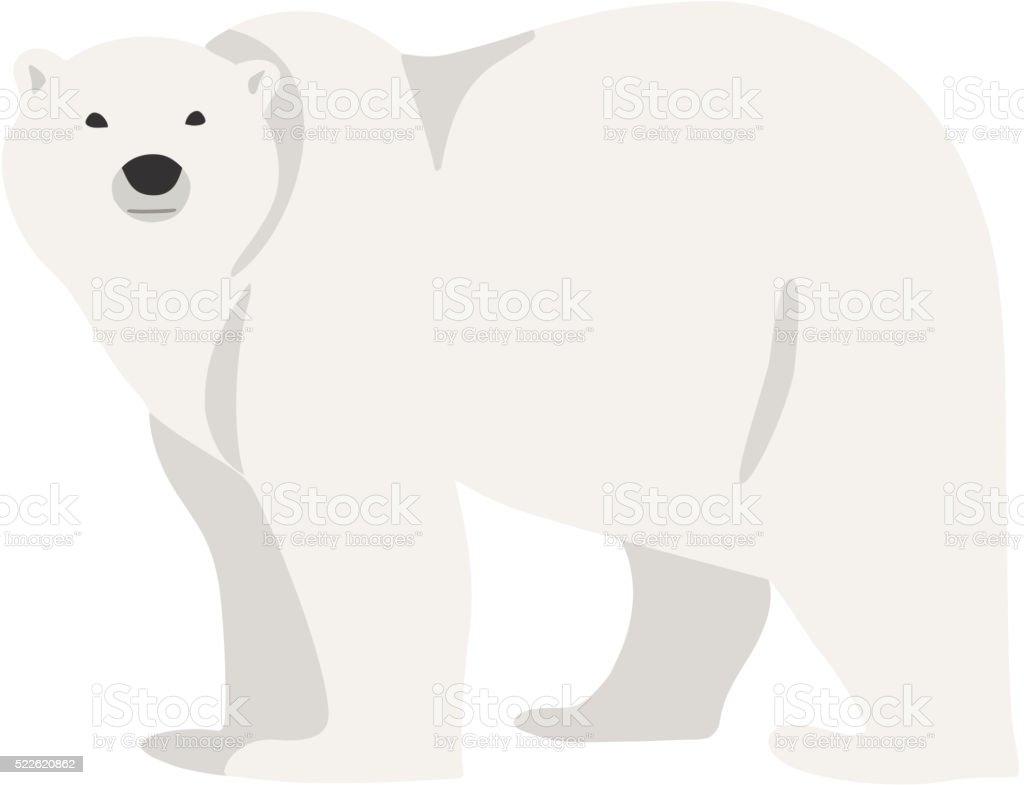 royalty free polar bear clip art vector images illustrations istock rh istockphoto com polar bear hunting clipart polar bear images clipart