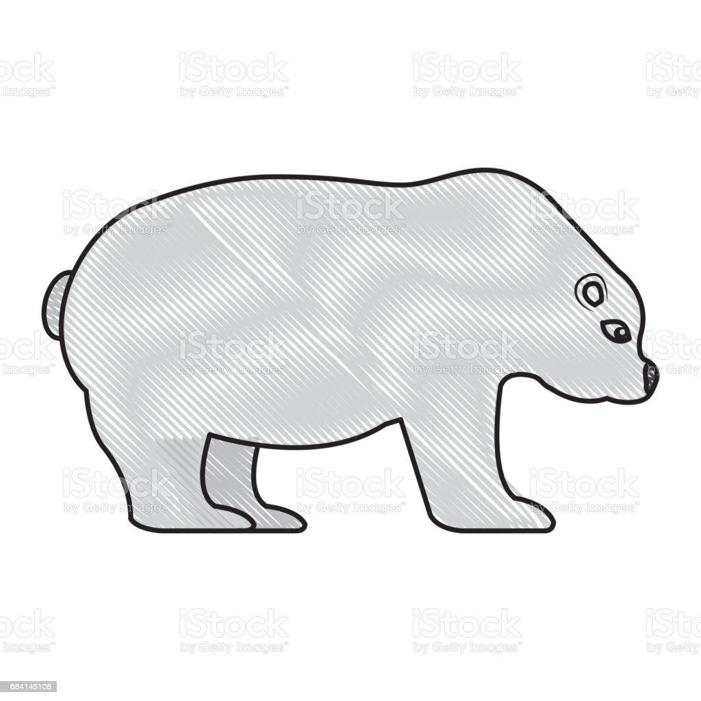 ijsbeer geïsoleerde pictogram royalty free ijsbeer geïsoleerde pictogram stockvectorkunst en meer beelden van achtergrond - thema