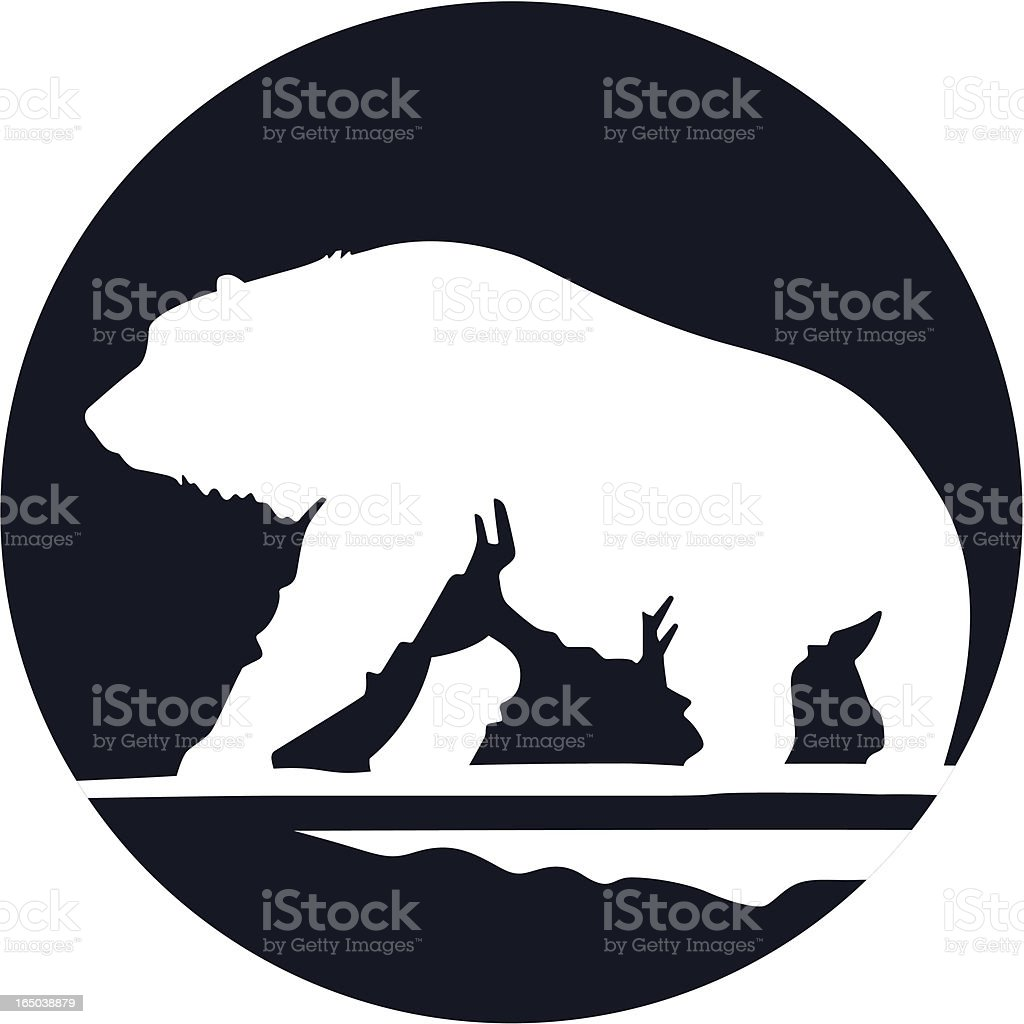 Polar Bear royalty-free stock vector art