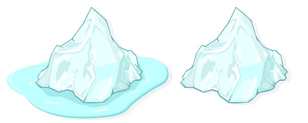 Icecap clip art vector images illustrations istock for Clipart iceberg