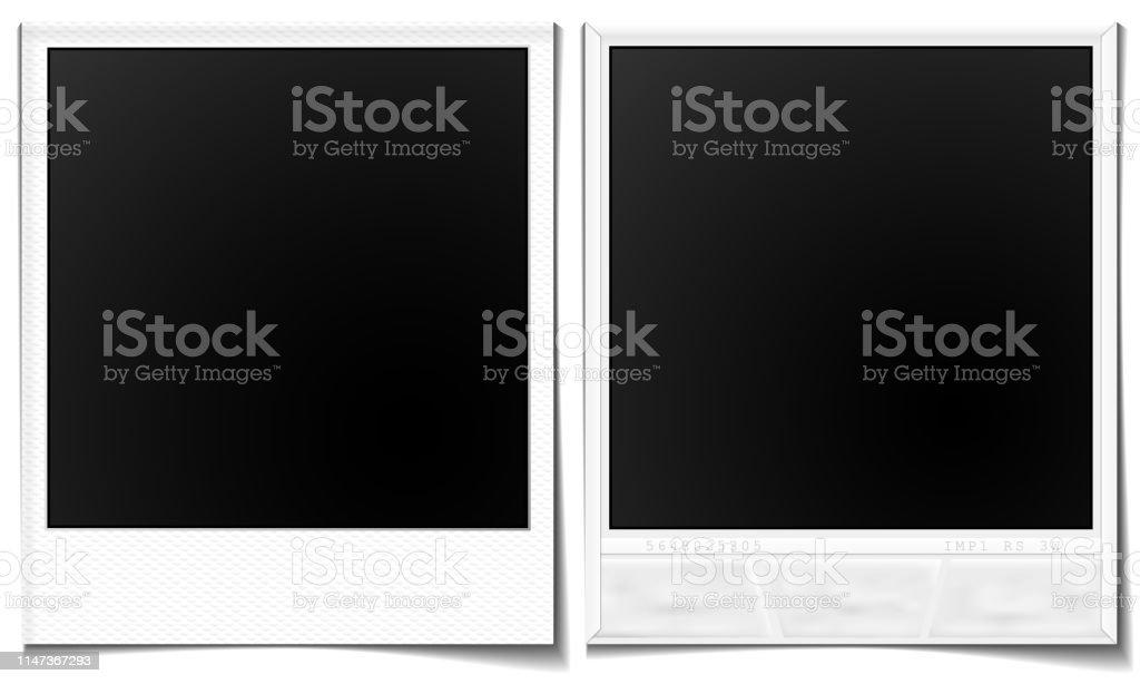 Polaroid-Rahmen - Lizenzfrei Alt Vektorgrafik