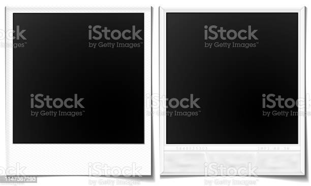 Polaroidrahmen Stock Vektor Art und mehr Bilder von Alt