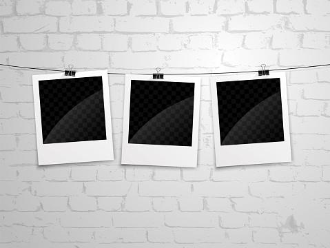 polaroid wall bg