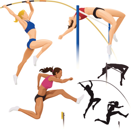 Pole Vault, High Jump & Hurdles