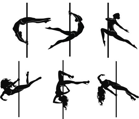 Pole-dancers