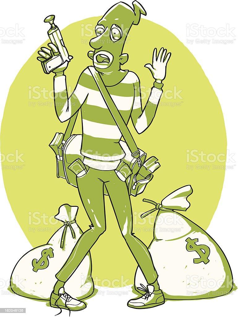 Police arrested the criminal royalty-free police arrested the criminal stock vector art & more images of arrest