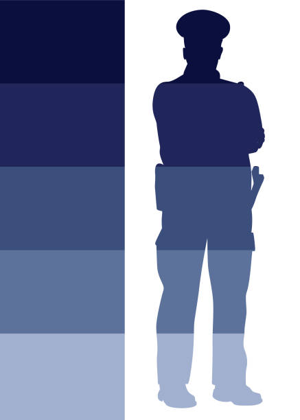 Autorité de Police - Illustration vectorielle