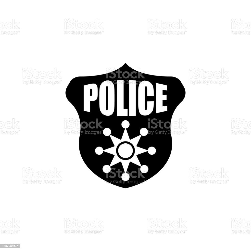 Police Badge Icon Element Of Police Profession Icon Premium Quality
