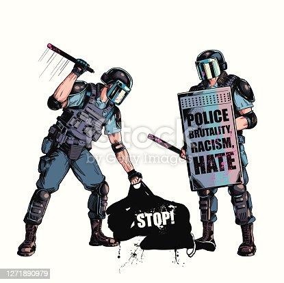istock Police Brutality 1271890979