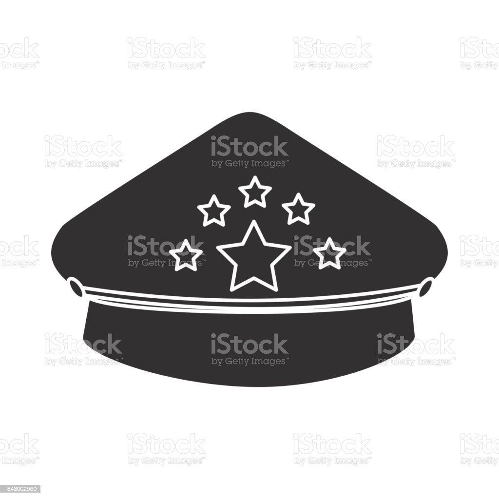 edee8683326 police cap icon royalty-free police cap icon stock vector art  amp  more  images