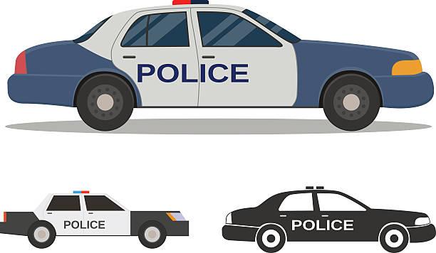Police car Police car police car stock illustrations