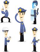 Police cartton collection 1.