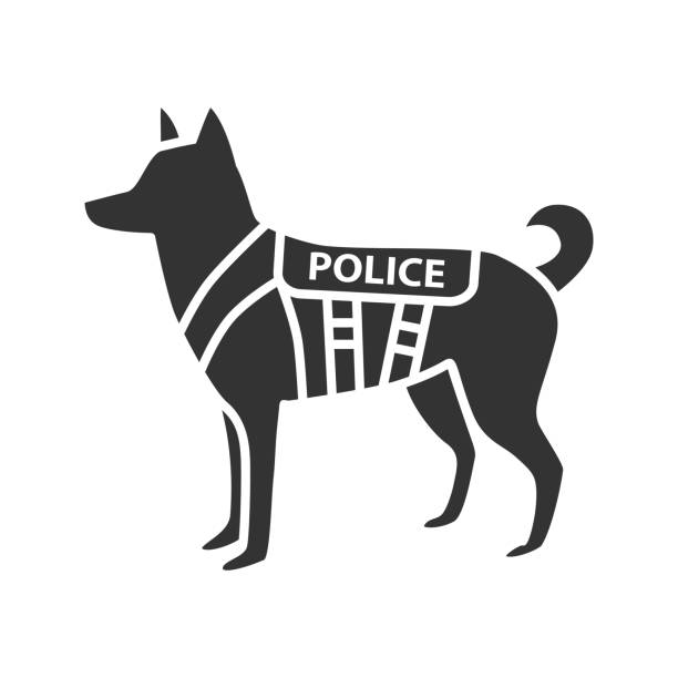 Royalty Free Police Dog Clip Art Vector Images
