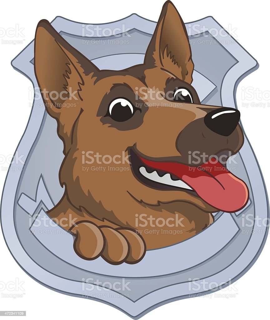 Police Dog royalty-free police dog stock vector art & more images of aggression