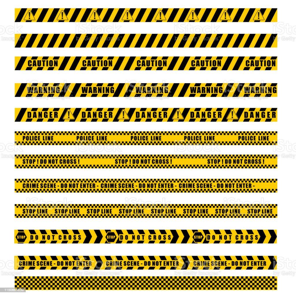 警戒線向量向量圖形及更多保安圖片- iStock