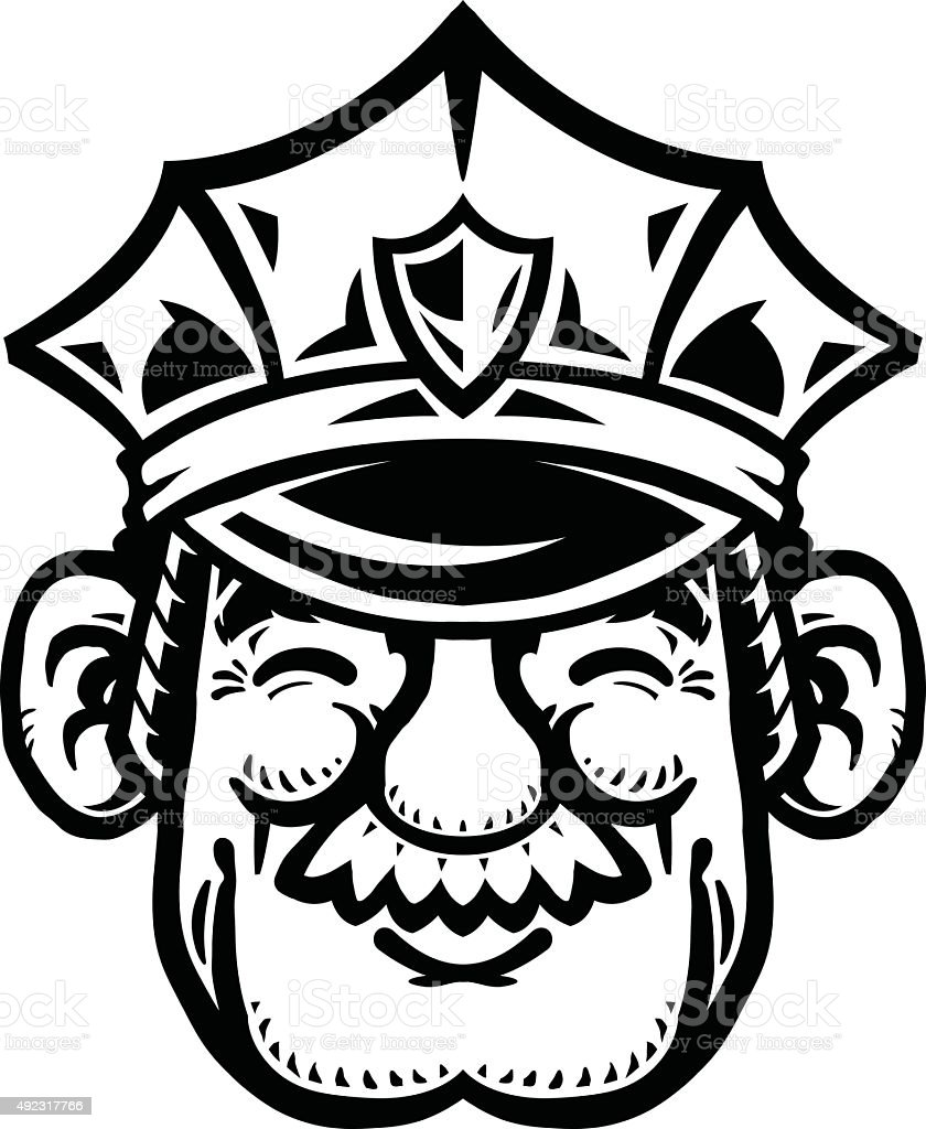 Police Officer Cop Cartoon Stock Vector Art More Images Of 2015