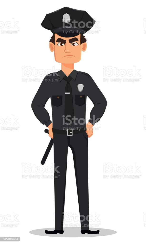 Police Officer Policeman Stock Vector Art More Images of Adult