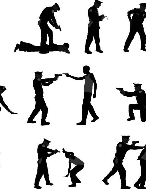 Officier de Police - Illustration vectorielle