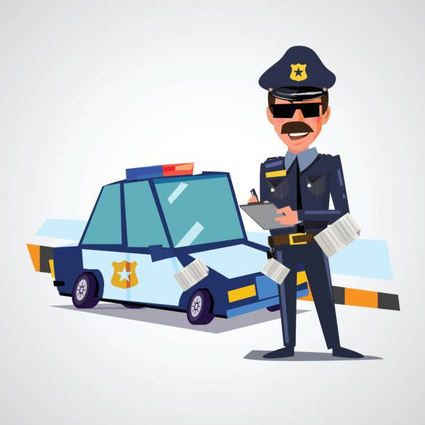 Speeding Ticket Prices >> Police Writing Ticket Illustrations, Royalty-Free Vector Graphics & Clip Art - iStock