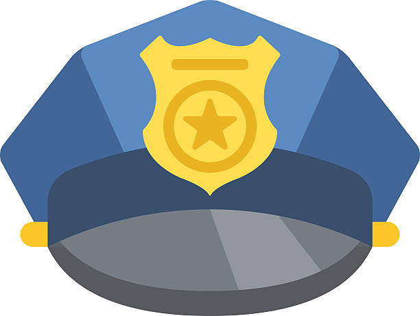 Top Police Hat Clip Art, Vector Graphics And Illustrations