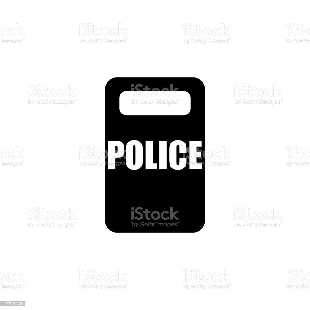 Police Shield Icon Element Of Police Profession Icon Premium Quality