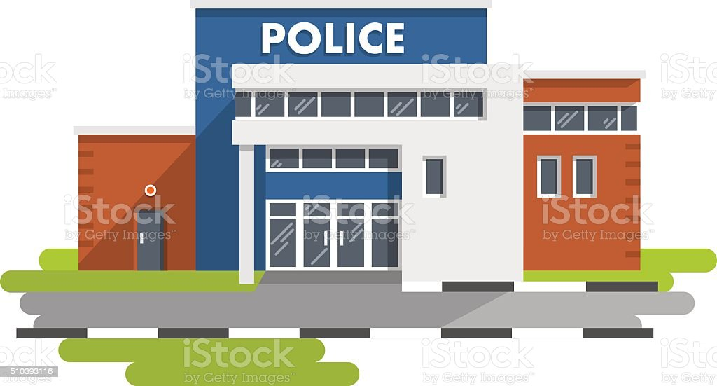 Police station clipart  Royalty Free Police Department Exterior Clip Art, Vector Images ...