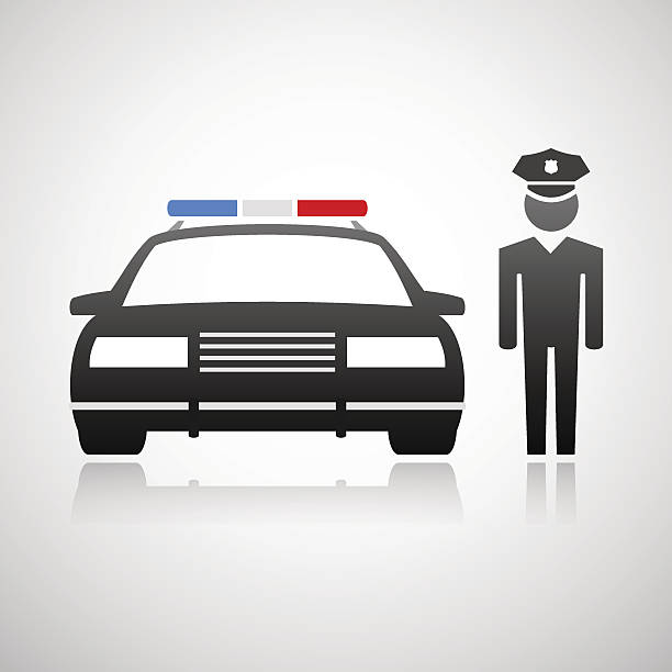 Royalty Free Clipart Police Car Clip Art Vector Images