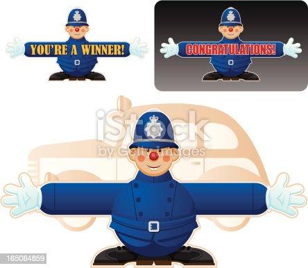 Policeman Banner
