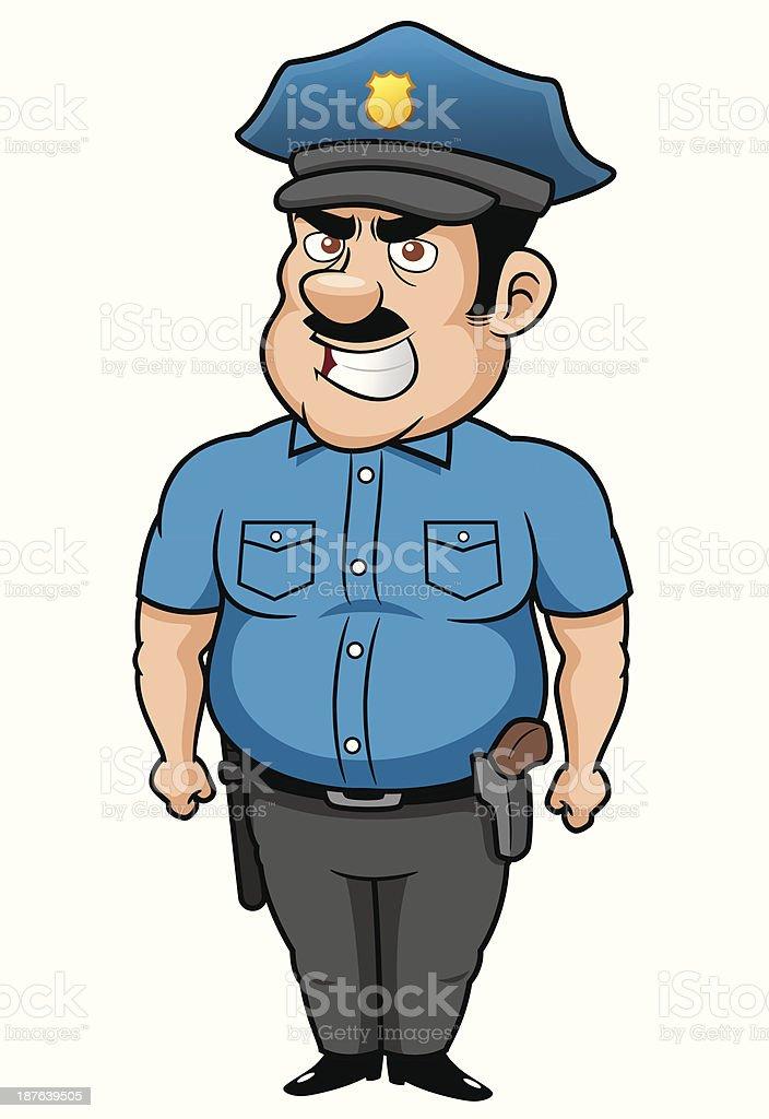 Policeman cartoon royalty-free policeman cartoon stock vector art & more images of adult
