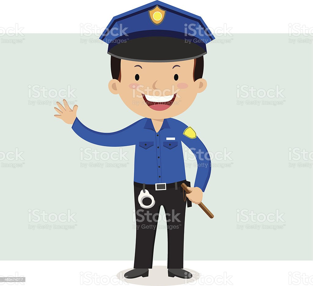 Policeman Stock Vector Art More Images of Adult 463474217 iStock