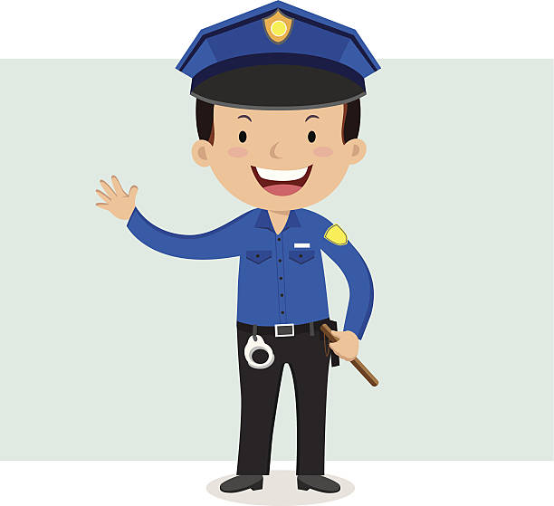 Police - Illustration vectorielle