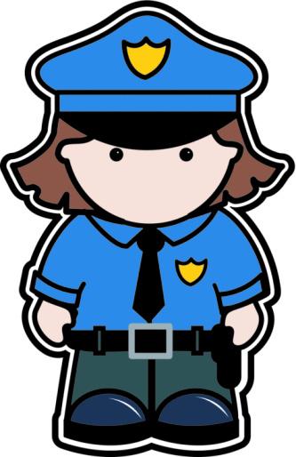 Policewoman character