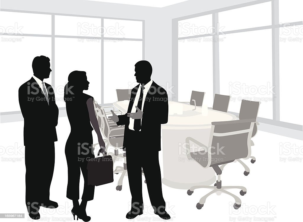 Policy Vector Silhouette royalty-free stock vector art