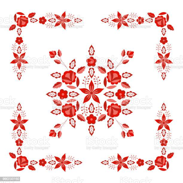 Polish folk pattern vector floral ethnic ornament slavic eastern vector id990233150?b=1&k=6&m=990233150&s=612x612&h=ensif4bcpbgspvdfy mguddwdhzdg 1ofcqlpznmsss=