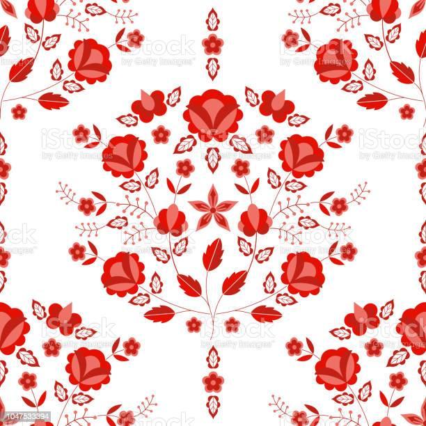Polish folk pattern vector seamless floral ethnic ornament slavic vector id1047533394?b=1&k=6&m=1047533394&s=612x612&h=bzwikrypxaglrgnijbgutkuy5kjv518py7gvhmssrcq=
