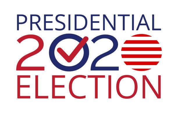 siyasi olay konsepti, 2020 amerika birleşik devletleri - başkanlık seçimleri stock illustrations