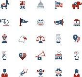 USA Political Icons