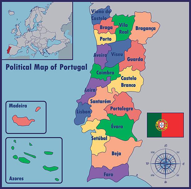 mapa de portugal com ilhas Mapa De Portugal E Ilhas Vetores e Ilustrações Royalty Free   iStock mapa de portugal com ilhas