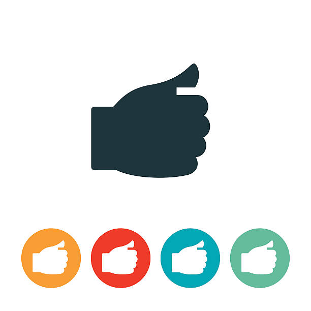 Politician Hand Icon vector art illustration