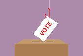Candidate, Voting, Ballot box, Voting ballot, Democracy