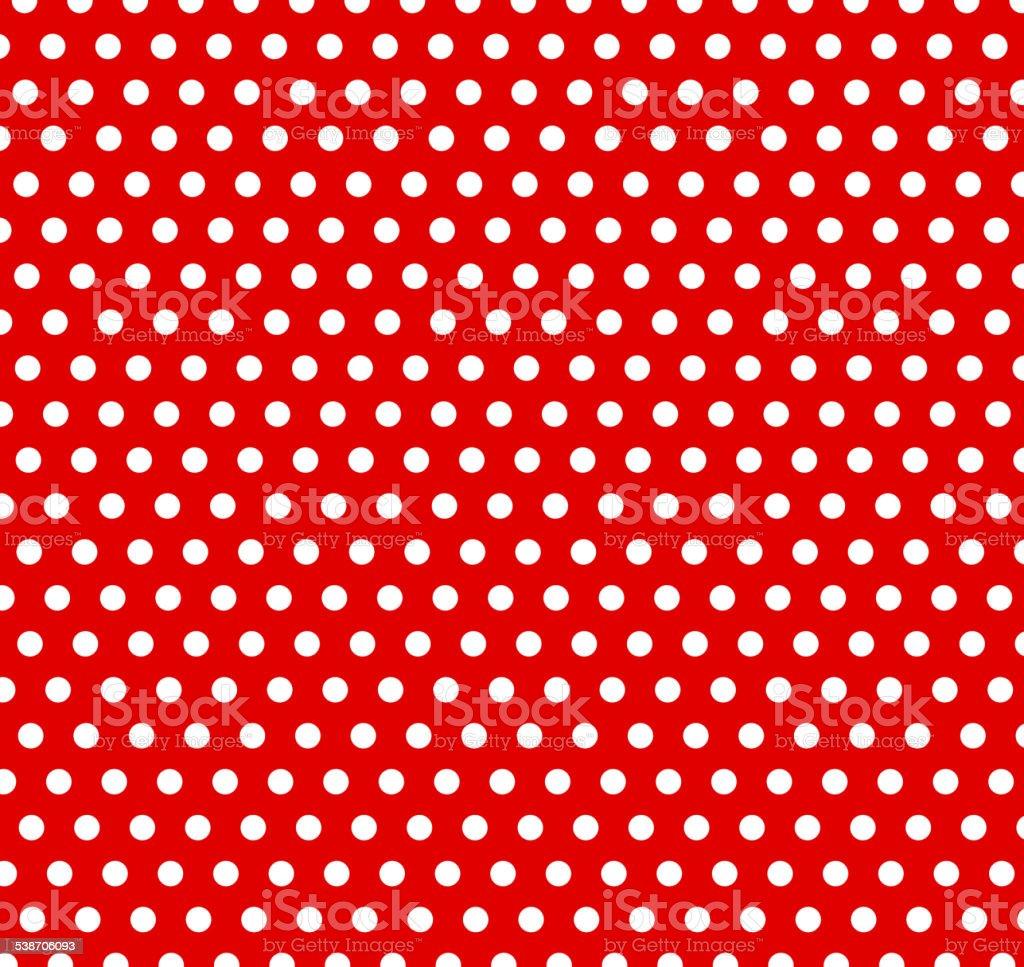 polka dot background vector art illustration