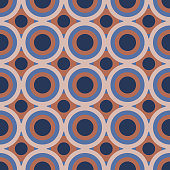 istock Polka dot colorful seamless pattern for pastel linens, textile, tablecloth, gingham and shower background. 1295819473