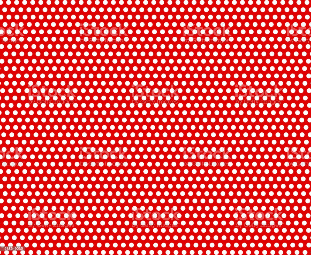 polka dot design vector art illustration