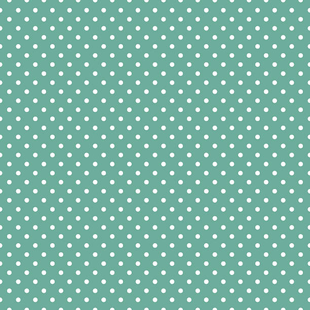 Polka dots on mint green background Polka dots on mint green background polka dot stock illustrations