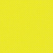 Tiny white polka dots on yellow background