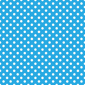 Classic polka dot repeating pattern design