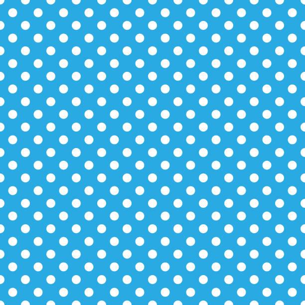 Polka Dots Seamless Pattern Classic polka dot repeating pattern design polka dot stock illustrations